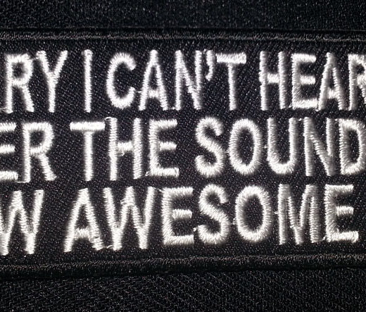 """""""Sorry I Can't Hear You…"""" patch"""