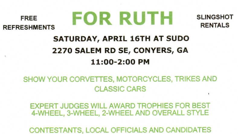 HOT ROD RALLY for RUTH