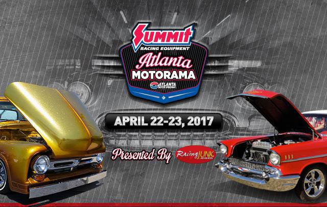 Summit Racing Equipment Atlanta Motorama – Sun., 4/23/2017