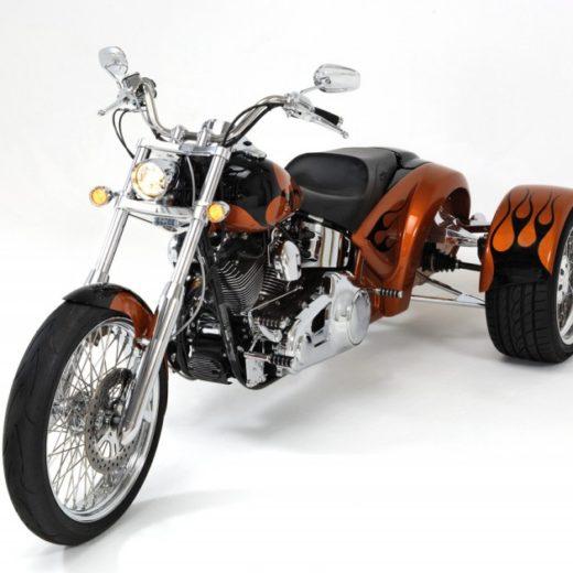 Custom Trike (fits 2000 to current Harley-Davidson Softails) exludes Springer & Rocker