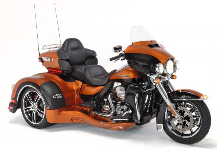 Daytona Trike (fits 1999 to current: FLH & FLT Touring Models)
