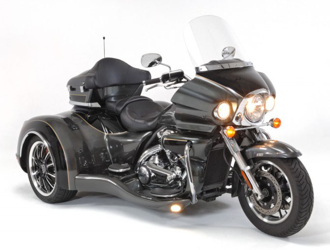 Kruze Trike (fits 2009 to current Kawasaki Vulcan 1700 Voyager, Nomad & Vaquero Models)