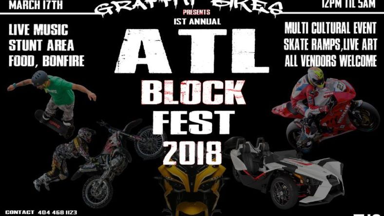 GRAFFITI BIKES presents 1st Annual Block Fest 2018