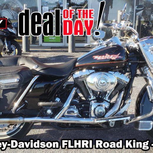 2002 Harley-Davidson FLHRI Road King