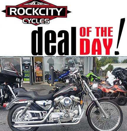 ROCK CITY CYCLES Deal of the Day – 1994 Harley-Davidson XL883 Sportster