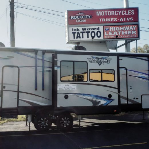 2019 Forest River Vengeance Laminated 348A13 Toy Hauler Travel Trailer