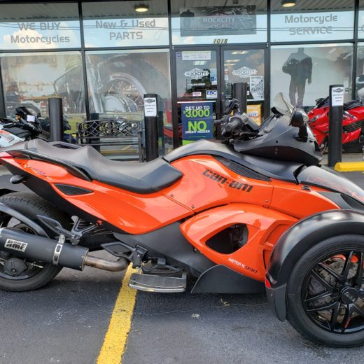 2012 Can-Am Spyder RSS SE5