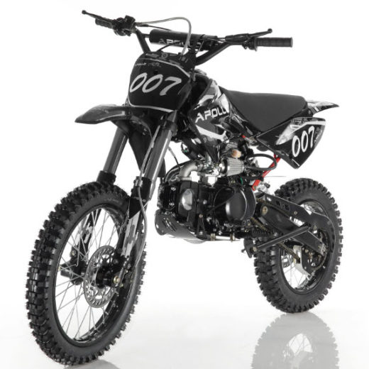 Apollo DB-007 125cc Manual Clutch Dirt Bike