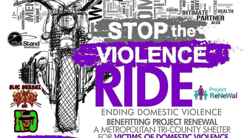 STOP THE VIOLENCE RIDE to End Domestic Violence – Sat., Oct. 12, 2019