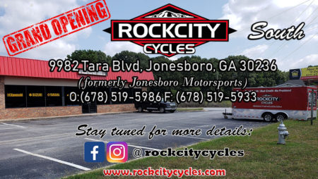 GRAND OPENING of Rock City Cycles South