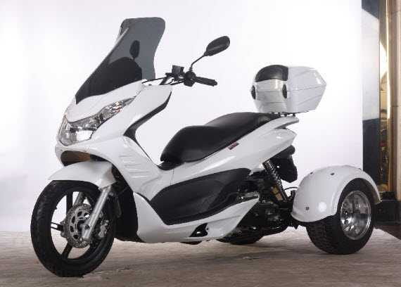 Q6 (PST50-17) 49cc Scooter Trike