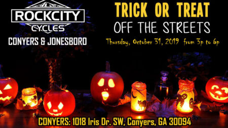 ROCK CITY CYCLES Trick or Treat off the Streets