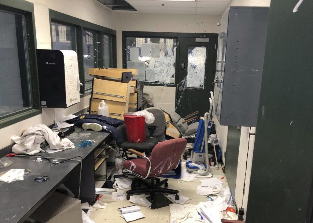 Property Damaged In Disturbance At Kansas Juvenile Lockup