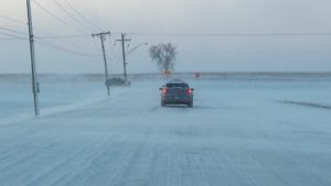 Winter Driving Minooka Illinois