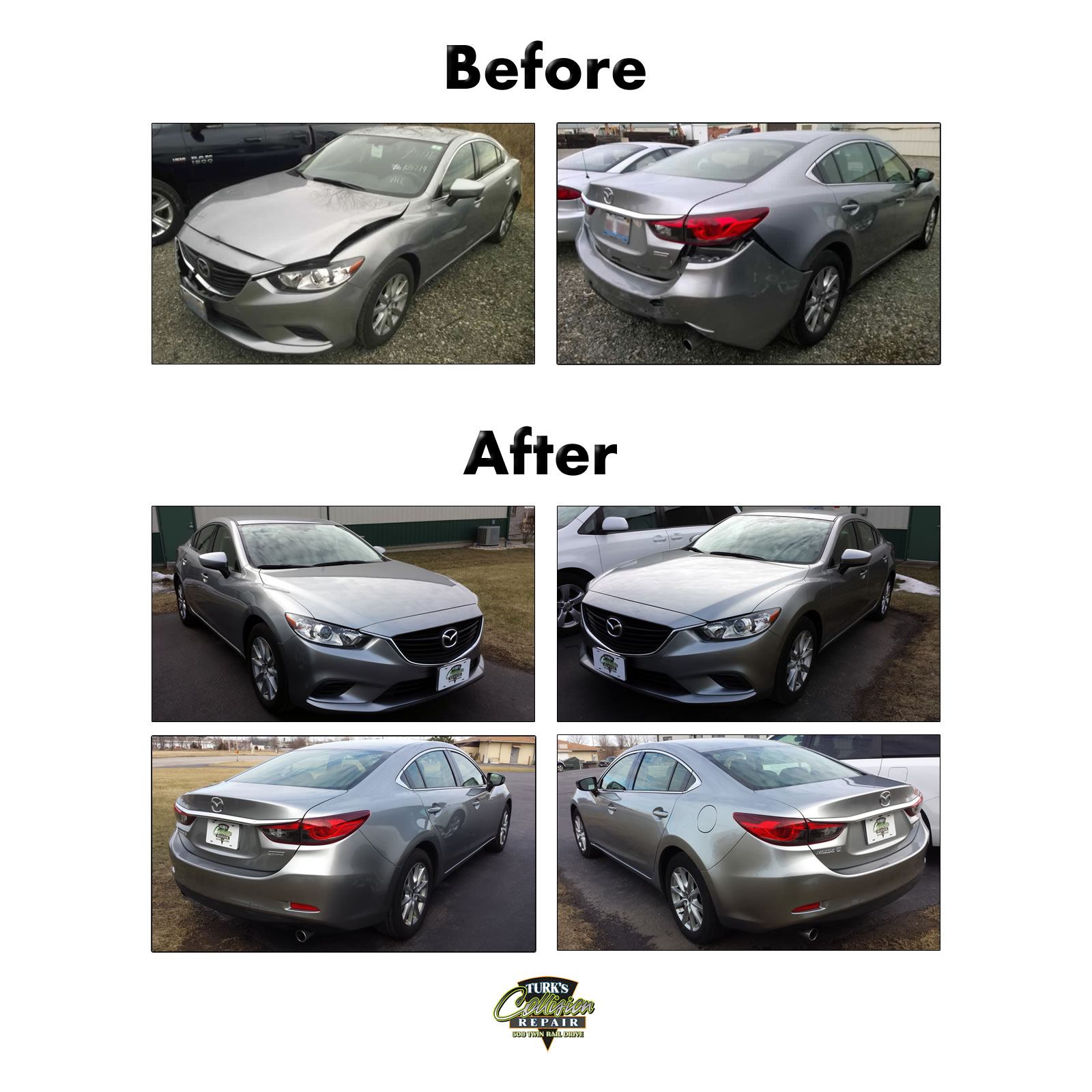 Mazda 6 Collision Repair
