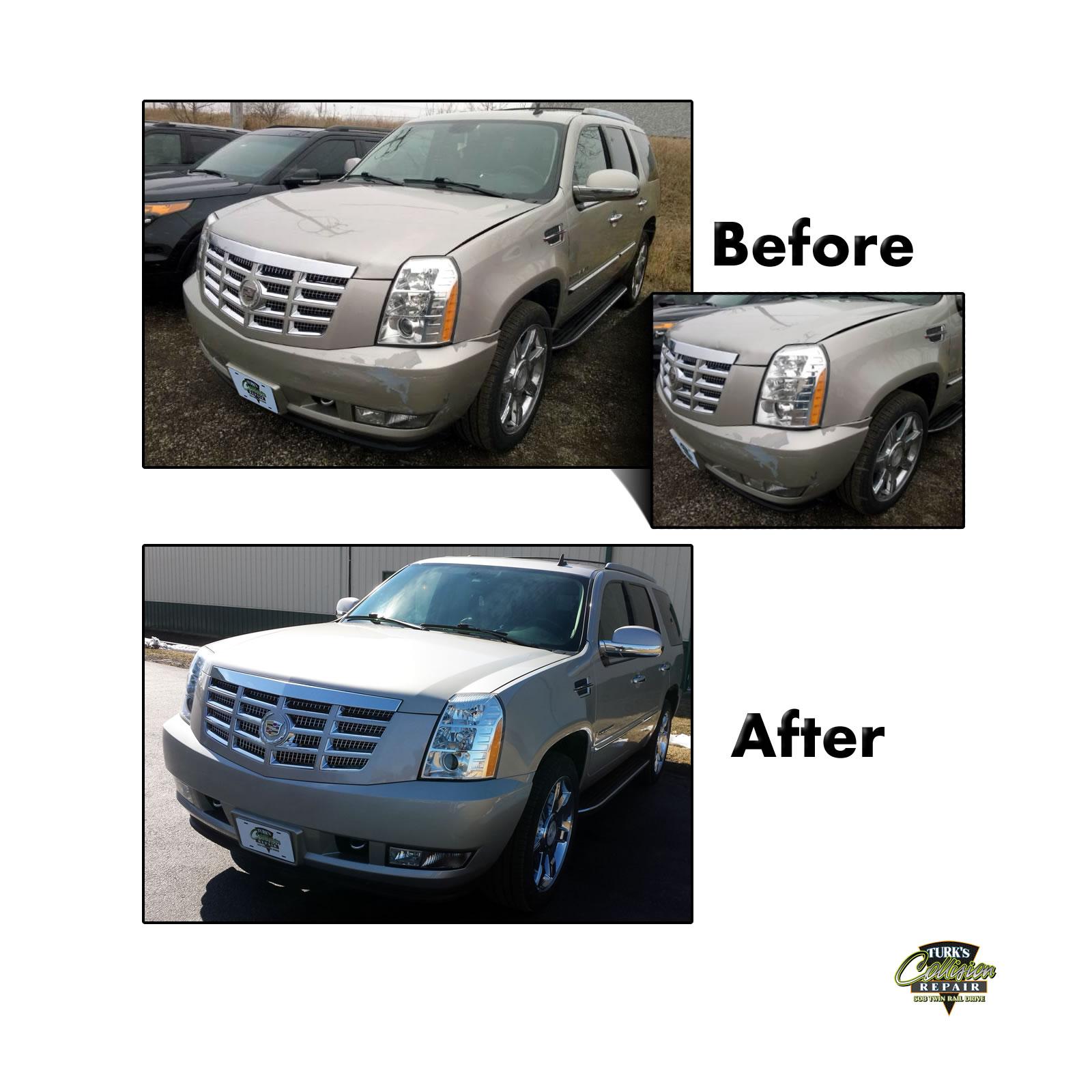 Cadillac Escalade Collision Repair
