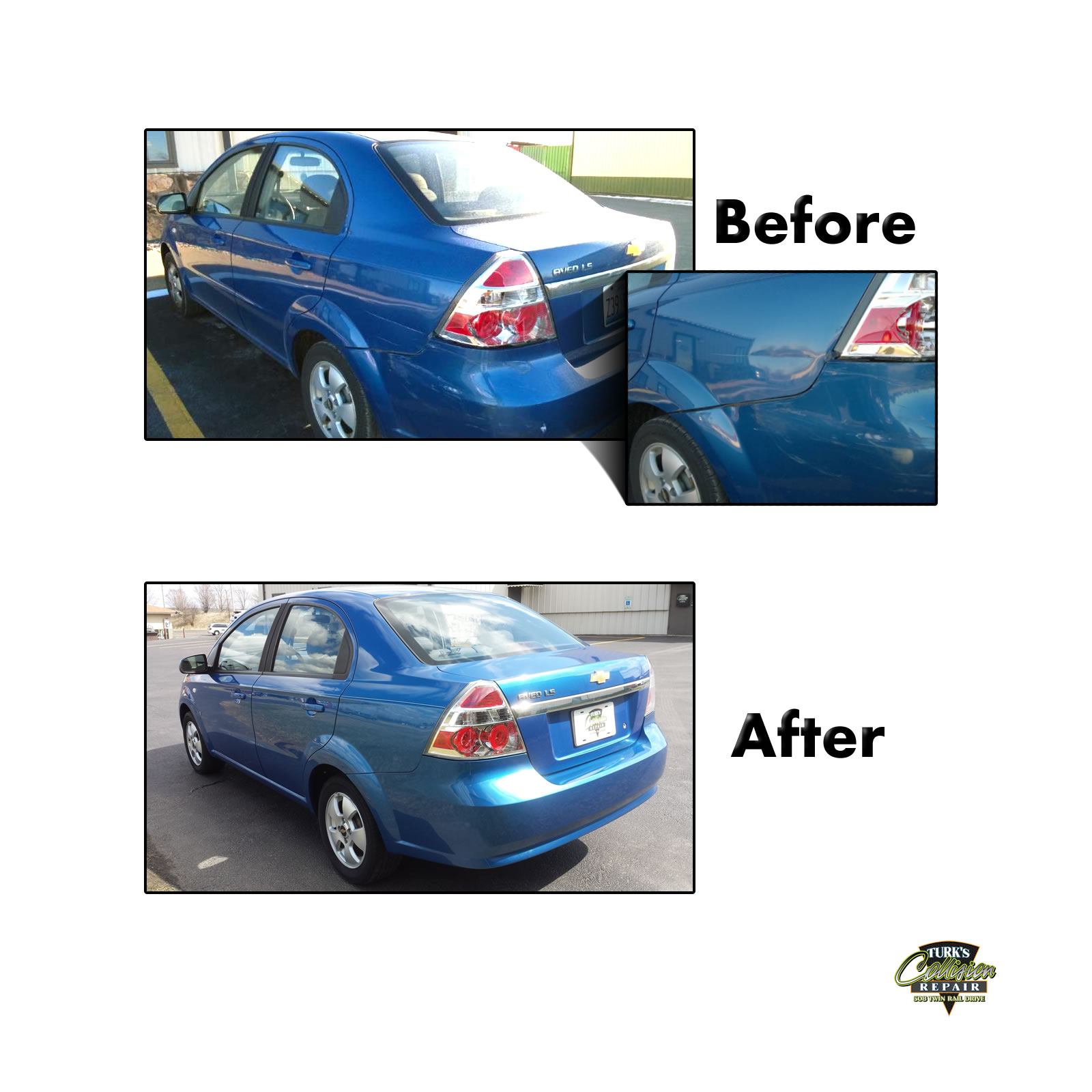 Chevy Aveo Collision Repair