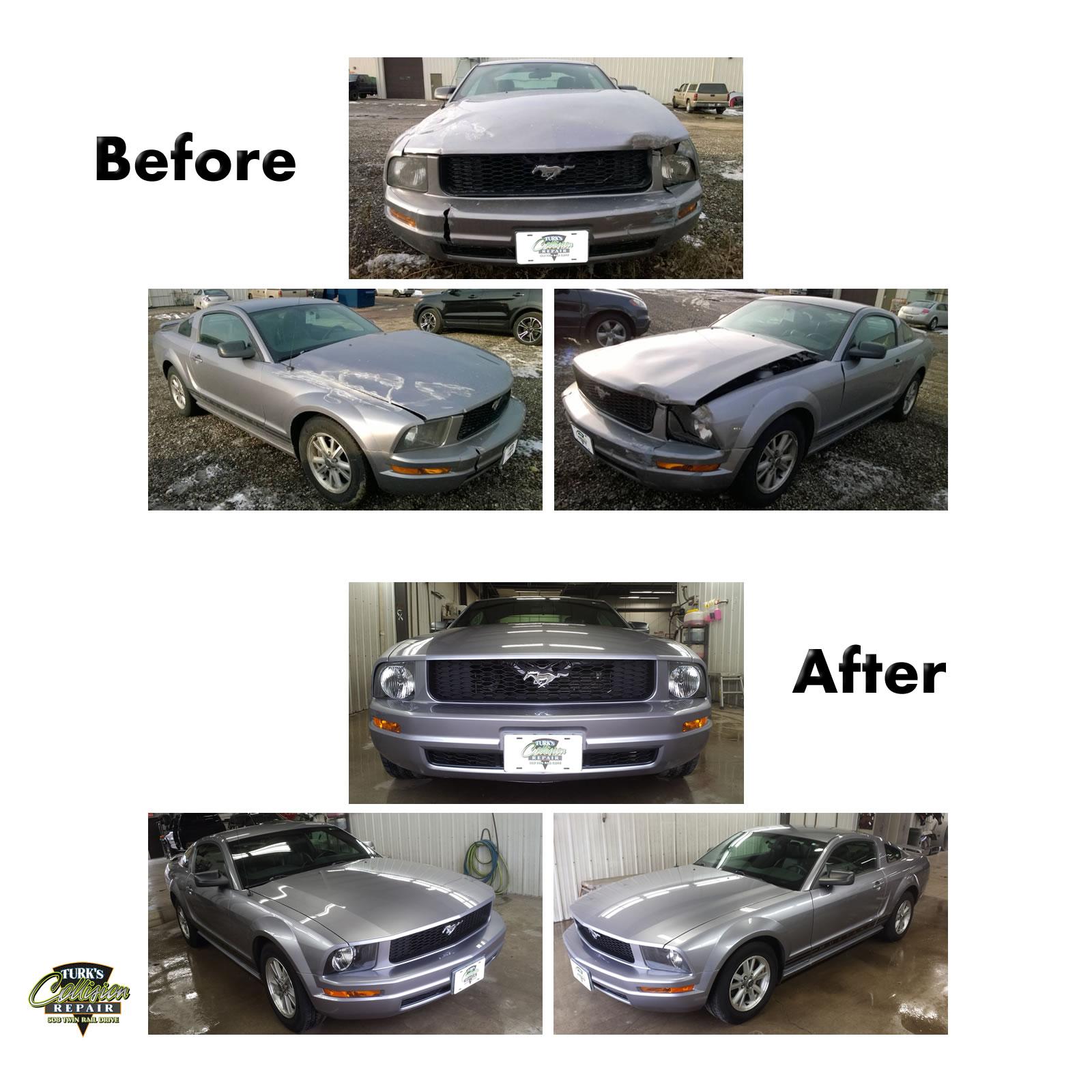 Ford Mustang Collision Repair