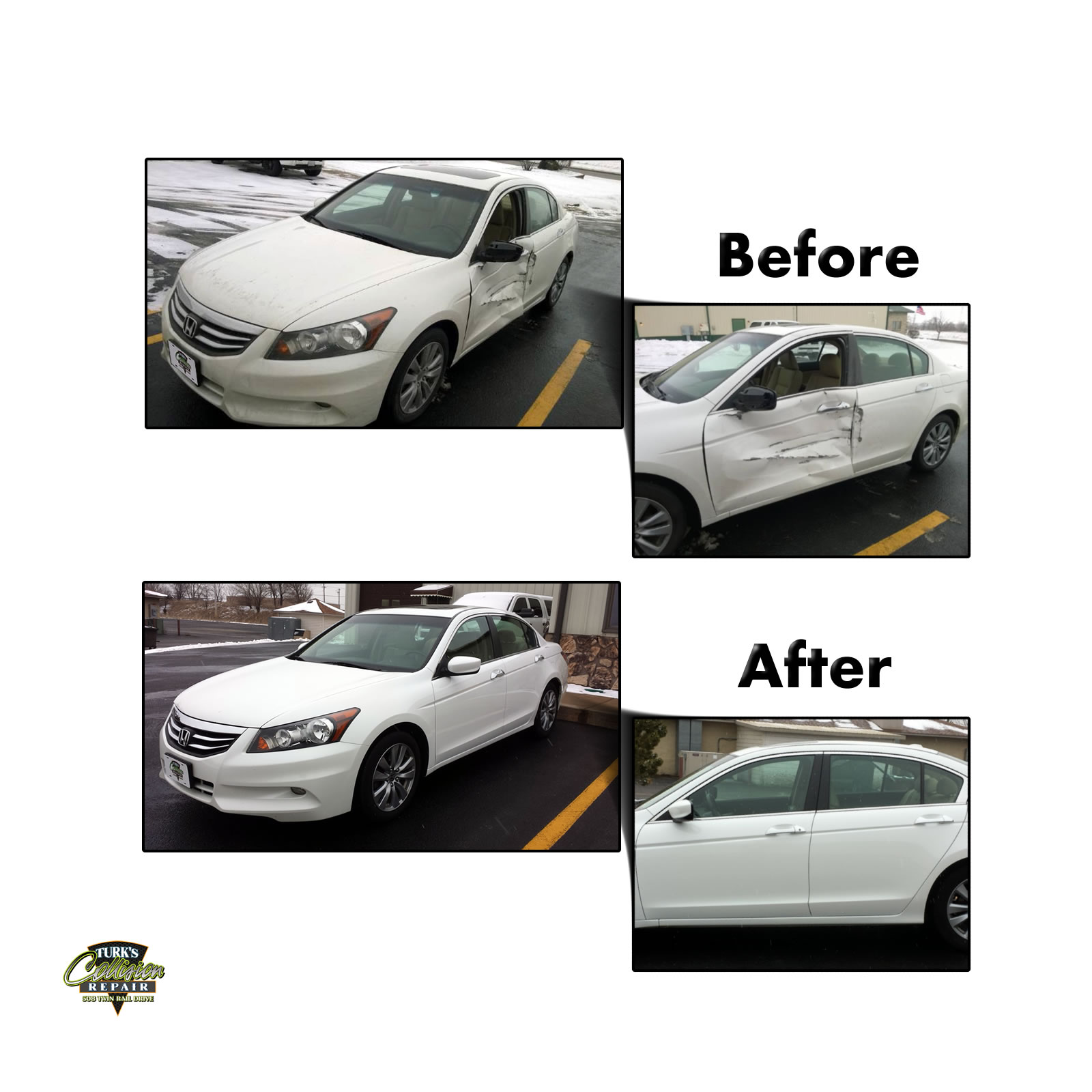 Honda Accord Collision Repair Minooka