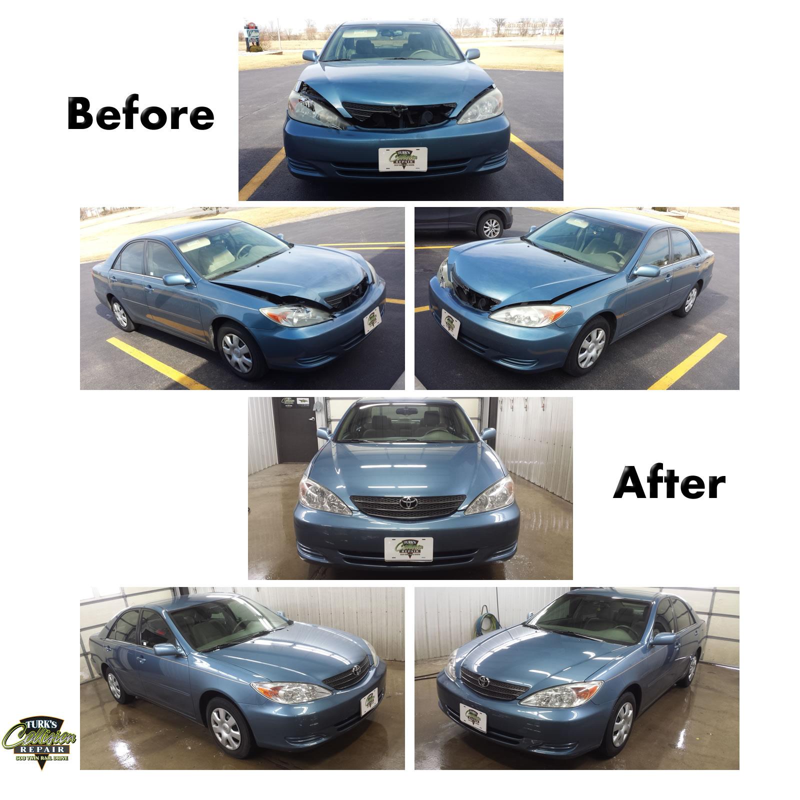 Toyota Camry Auto Body Repair Minooka