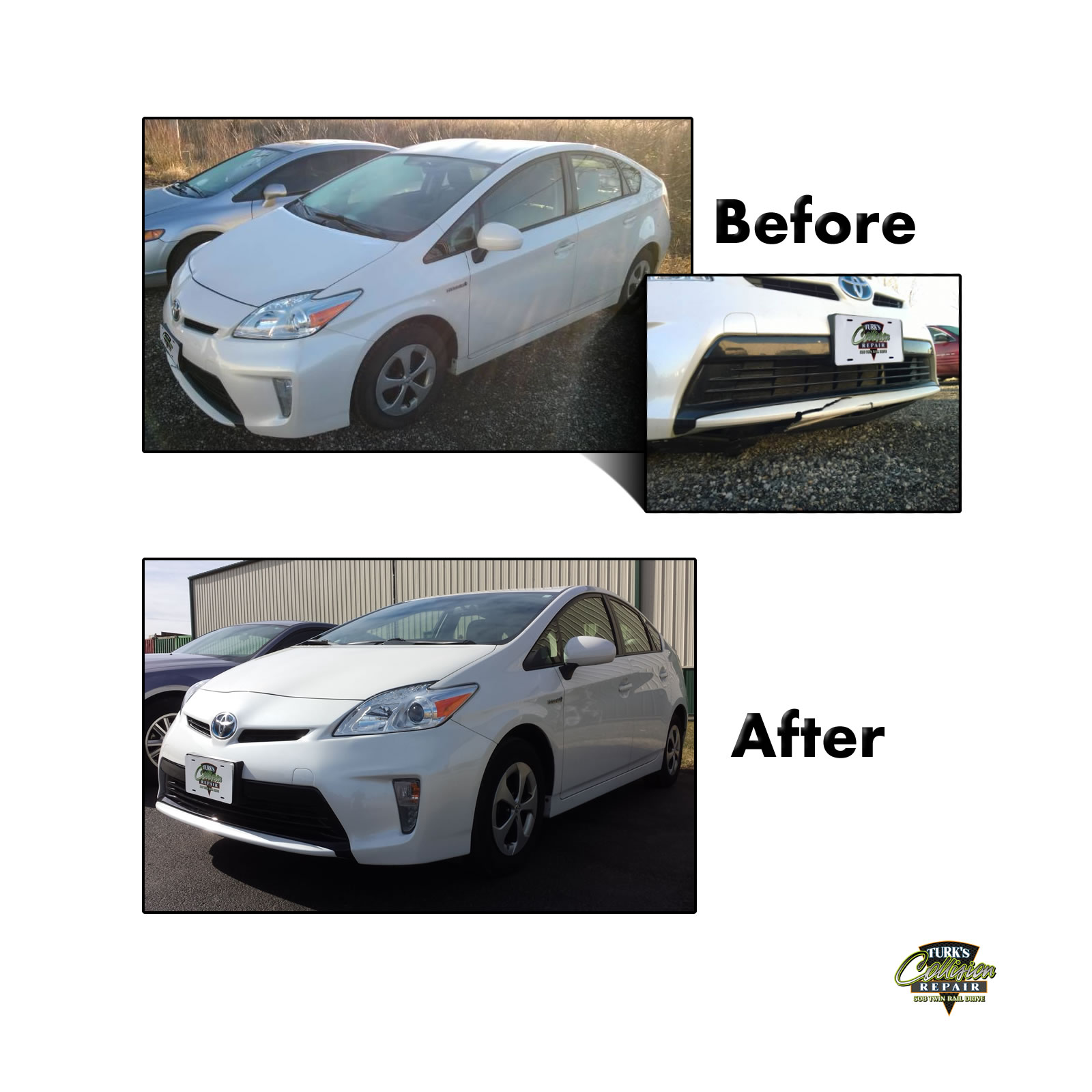 Toyota Prius Collision Repair Minooka