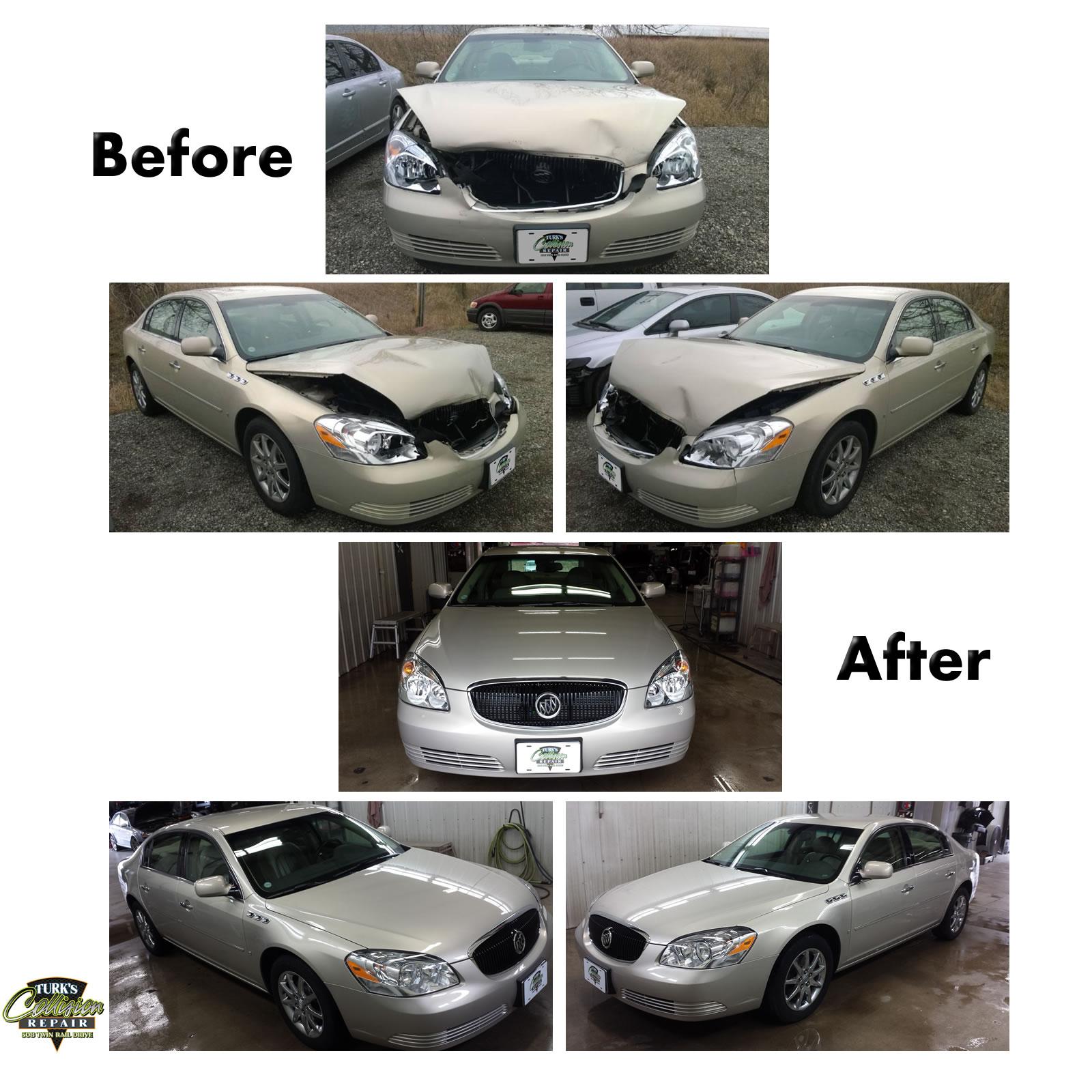 Buick Lucerne Auto Body Repair Minooka