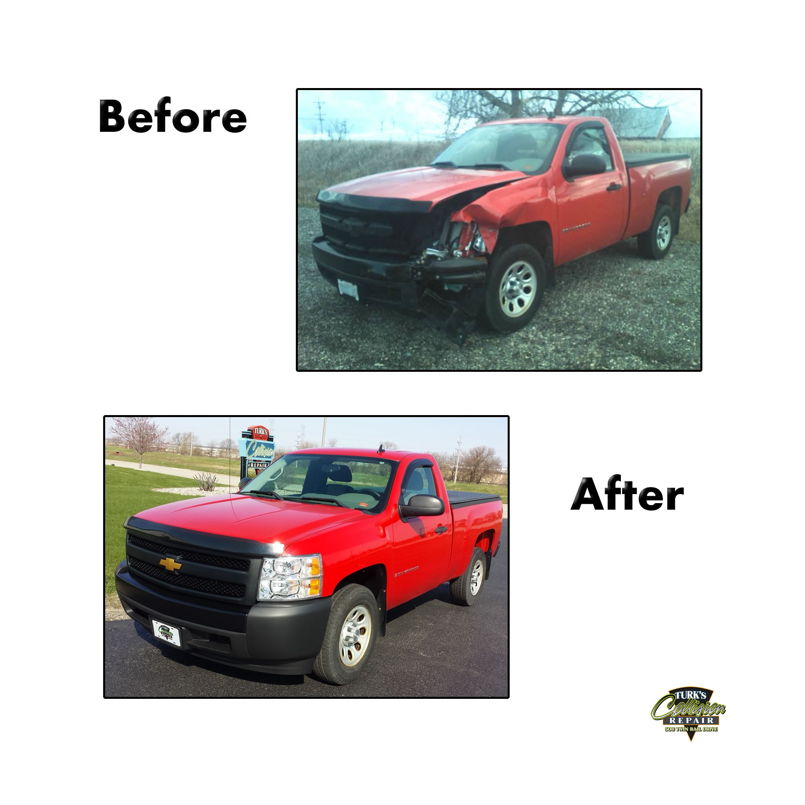Chevy Truck Auto Body Repair