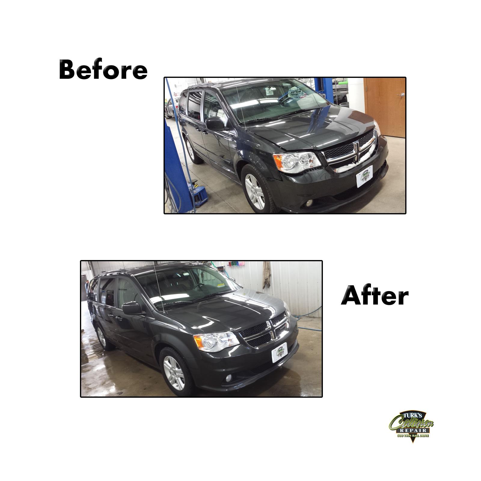 Dodge Caravan Collision Repair