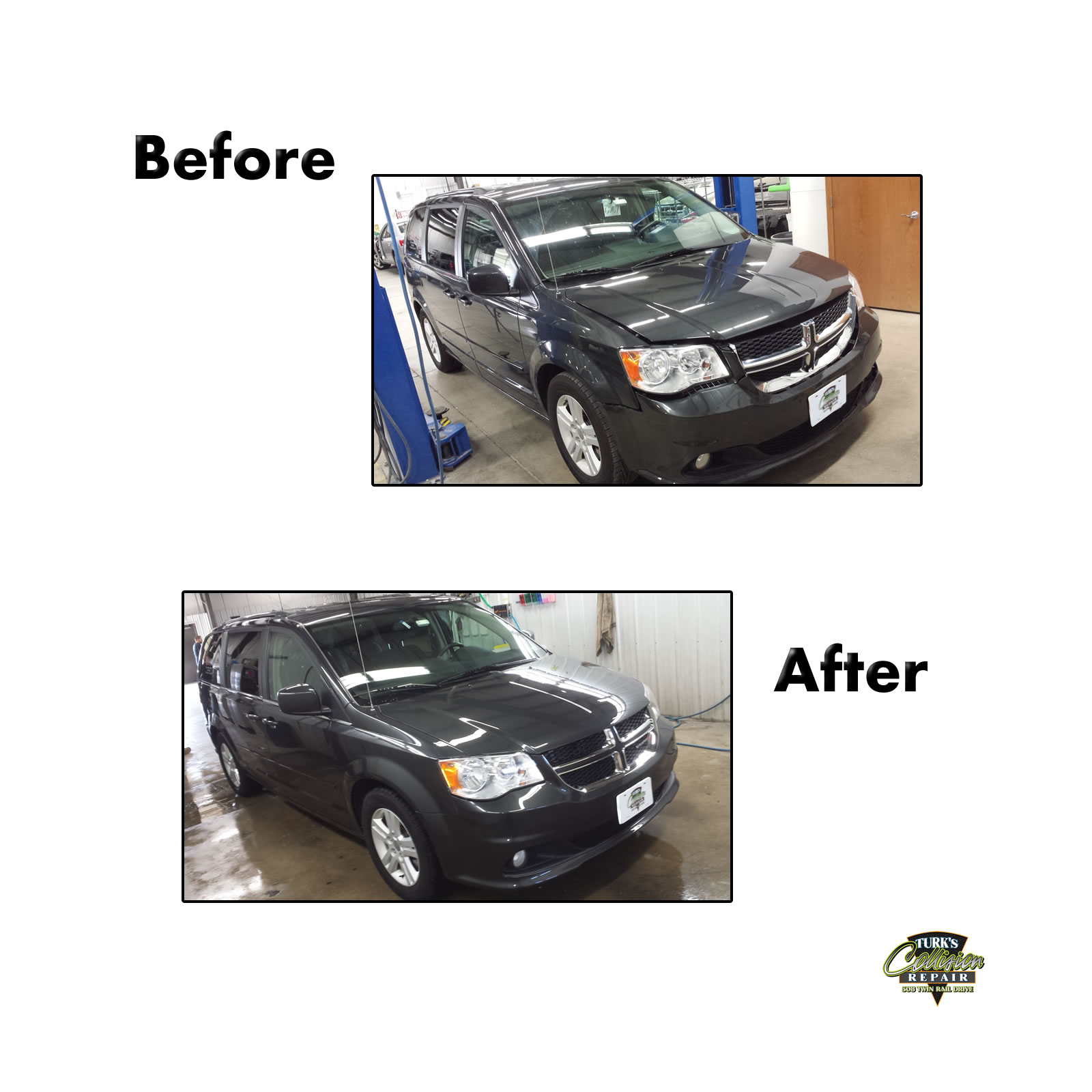 Dodge Caravan Collision Repair