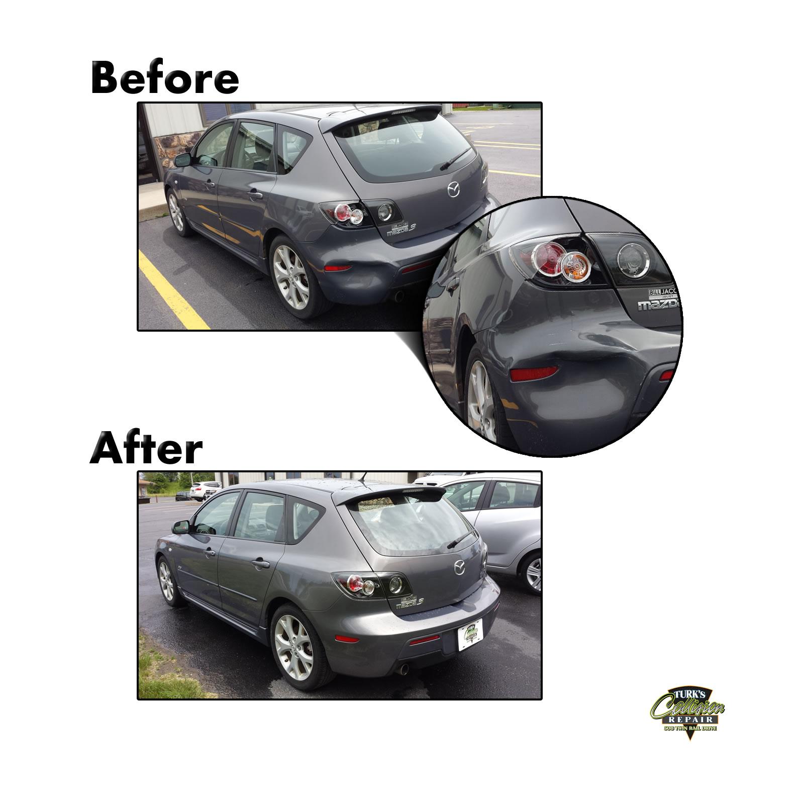 Mazda 3 Collision Repair