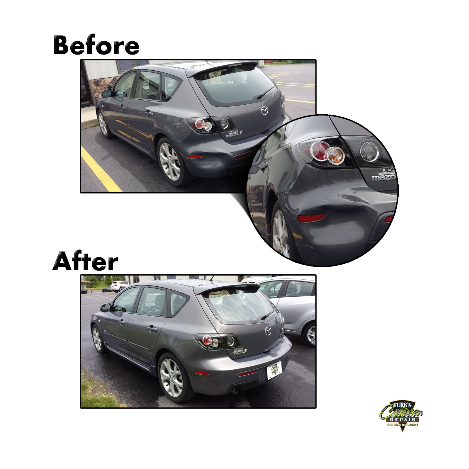Mazda 3 Collision Repair