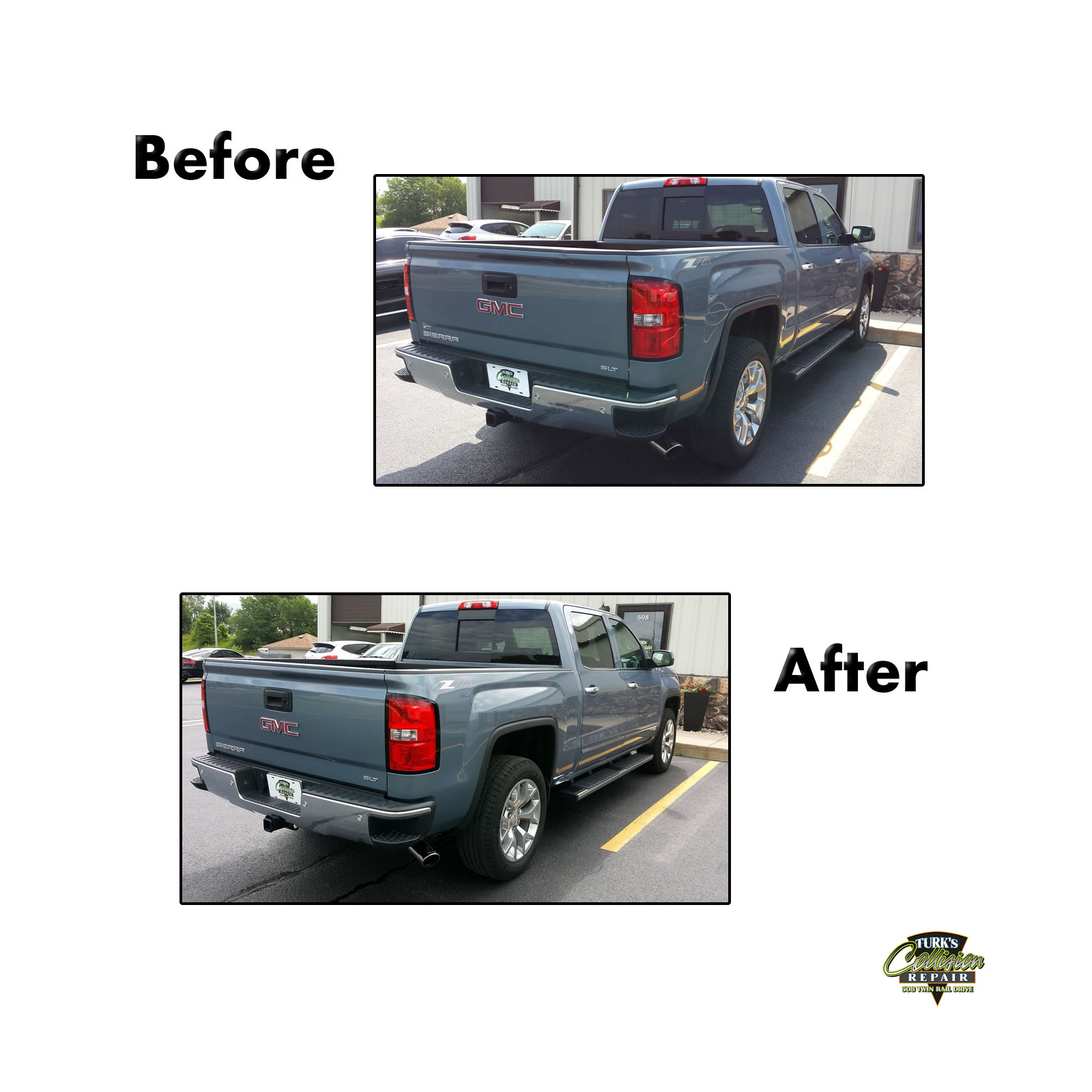 GMC K1500 Collision Repair