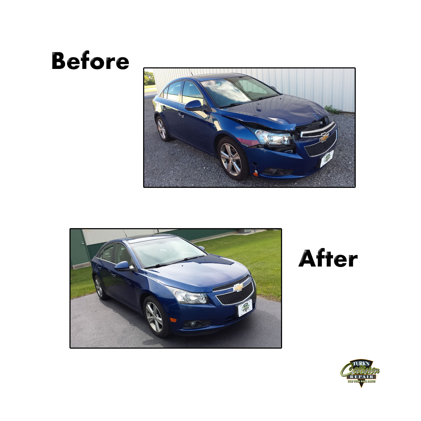 Chevy Cruze Collision Repair