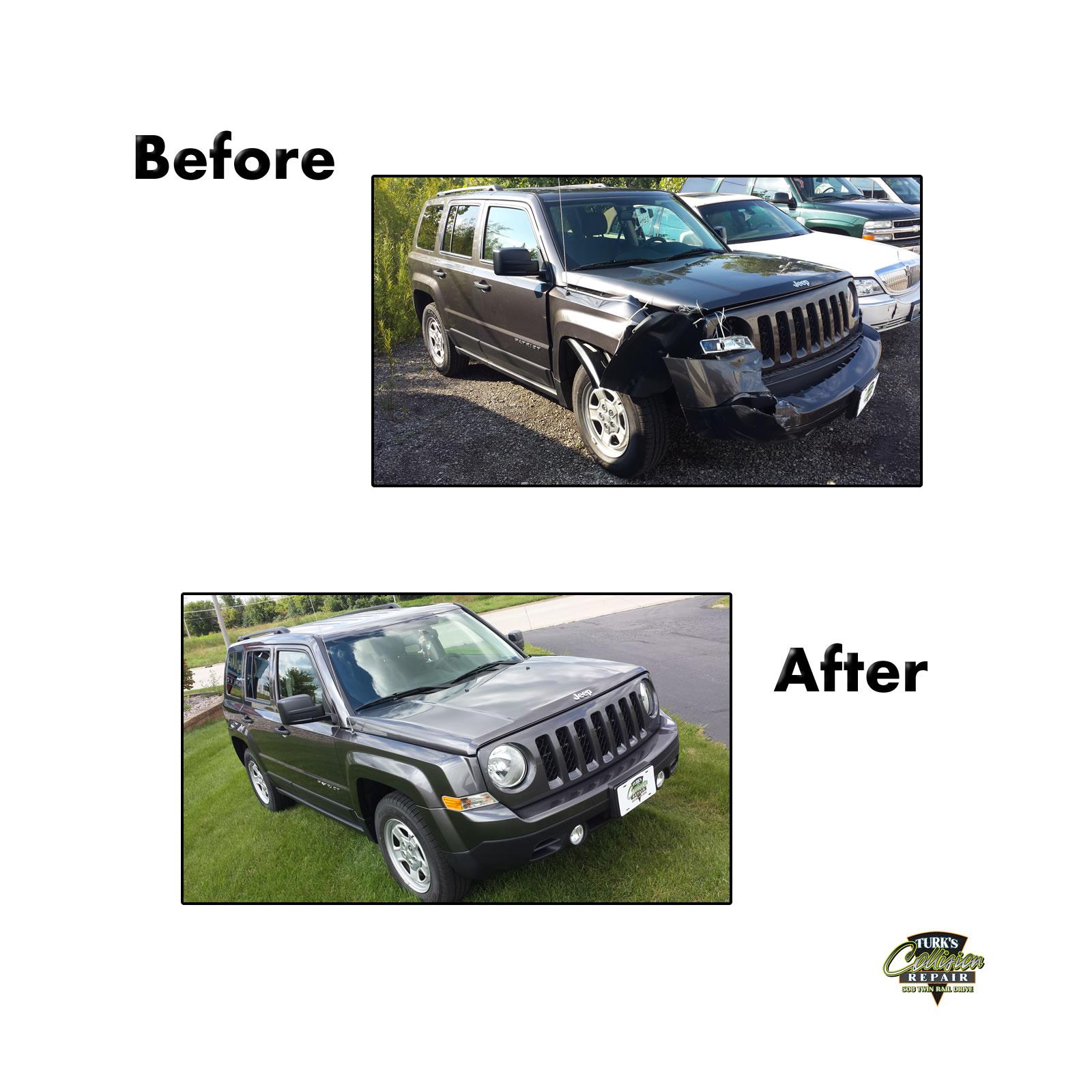 Jeep Patriot Collision Repair