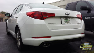 Kia Optima Collision Repair