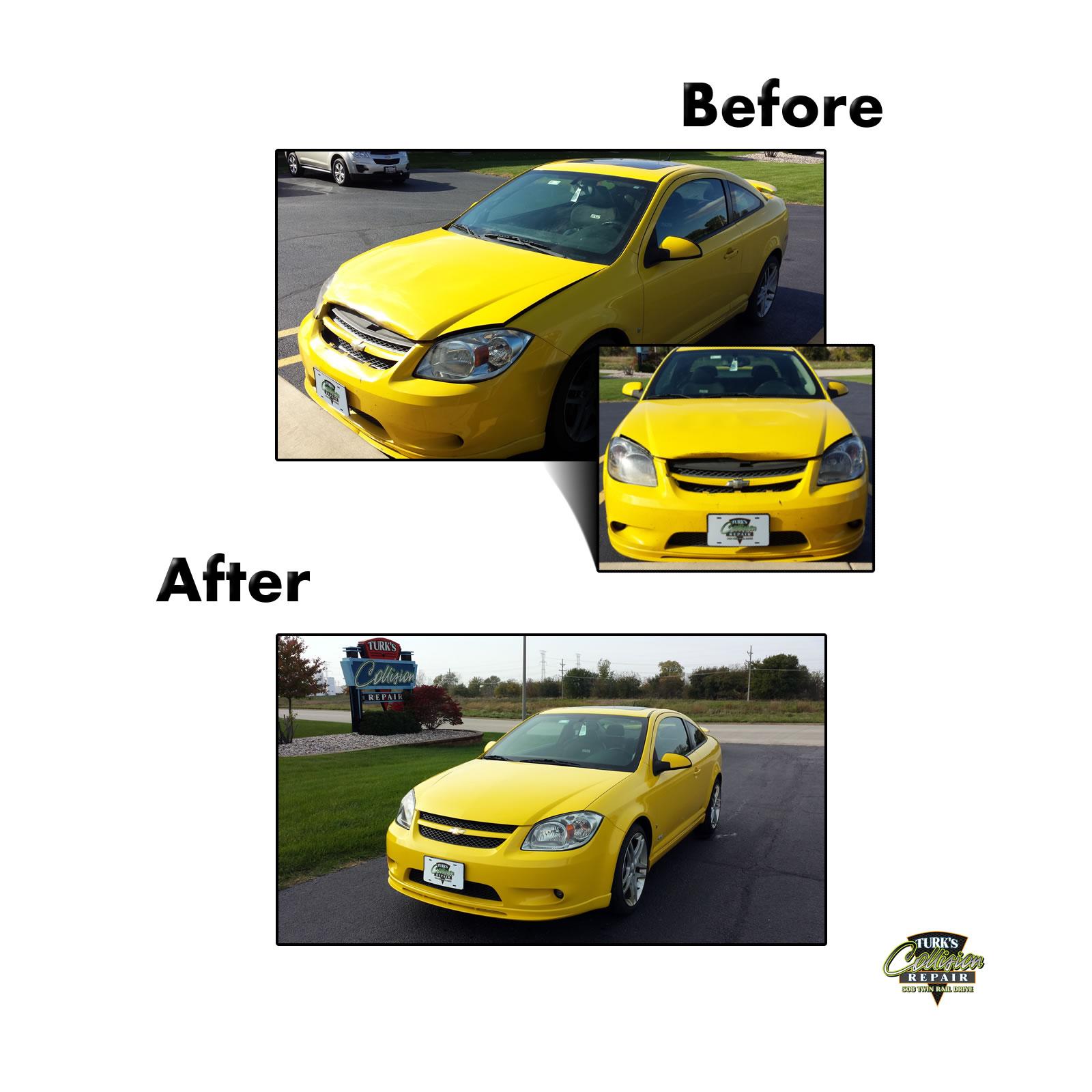 Chevy Cobalt Auto Body Repair Minooka IL 60447