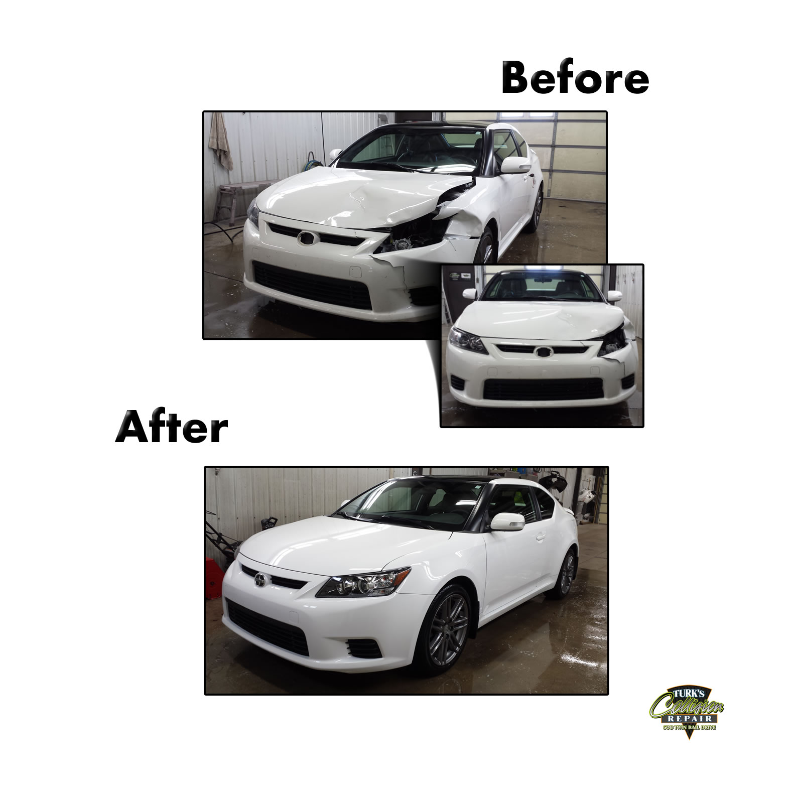 Scion tC Collision Repair Minooka