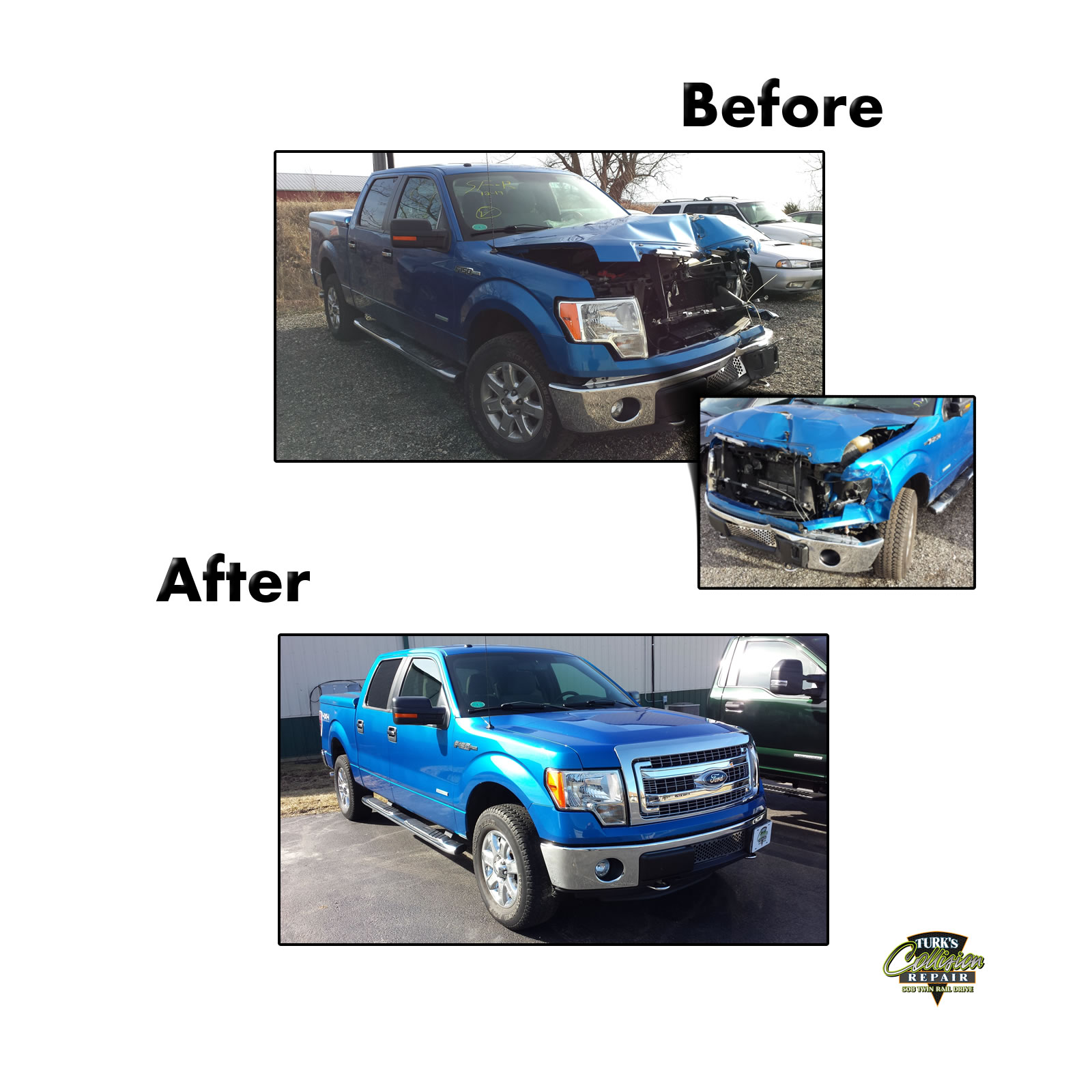 Ford F150 Collision Repair