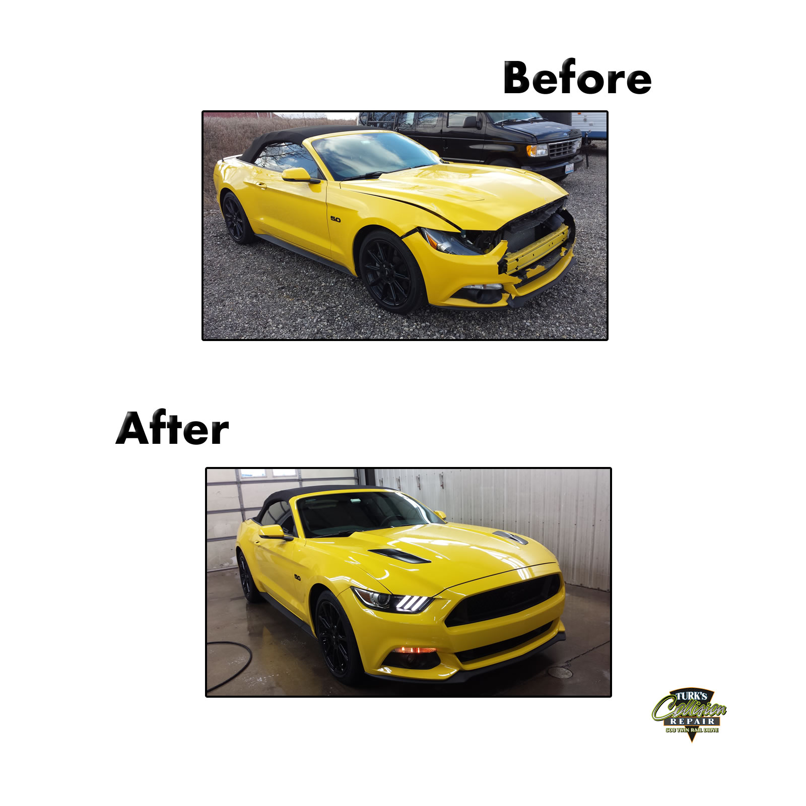 Ford Mustang Auto Body Repair
