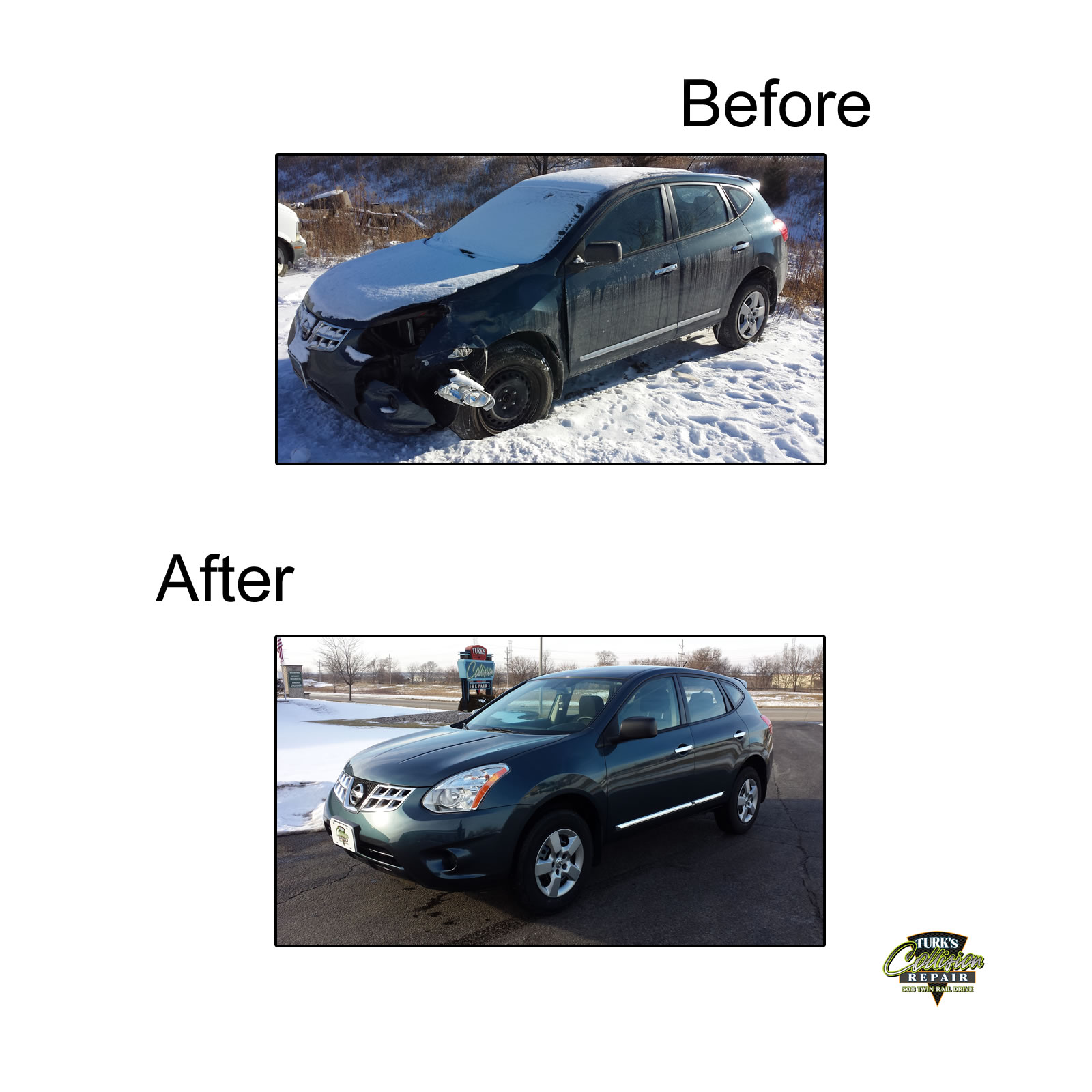 Nissan Rogue Collision Repair