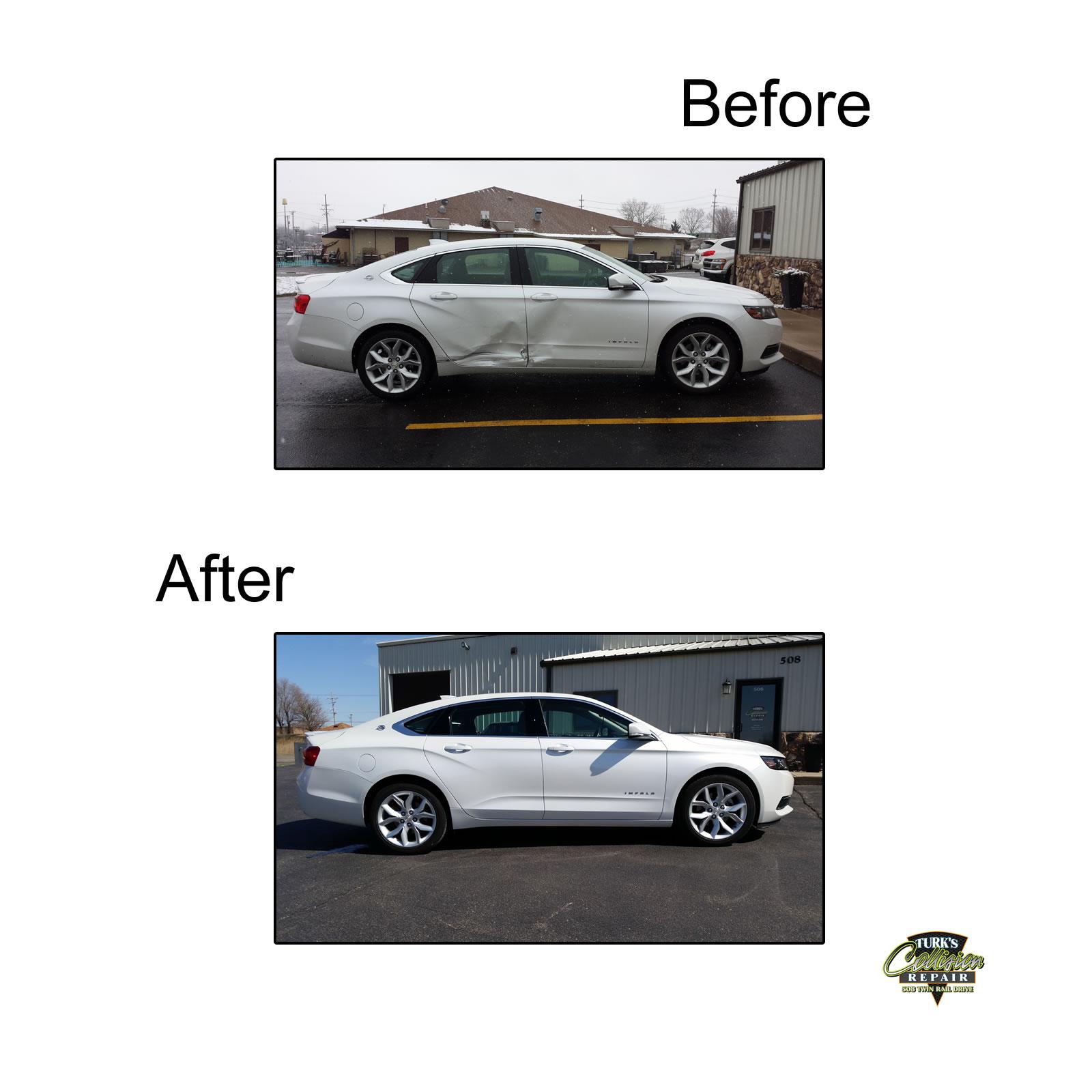 Chevy Impala Auto Body Repair
