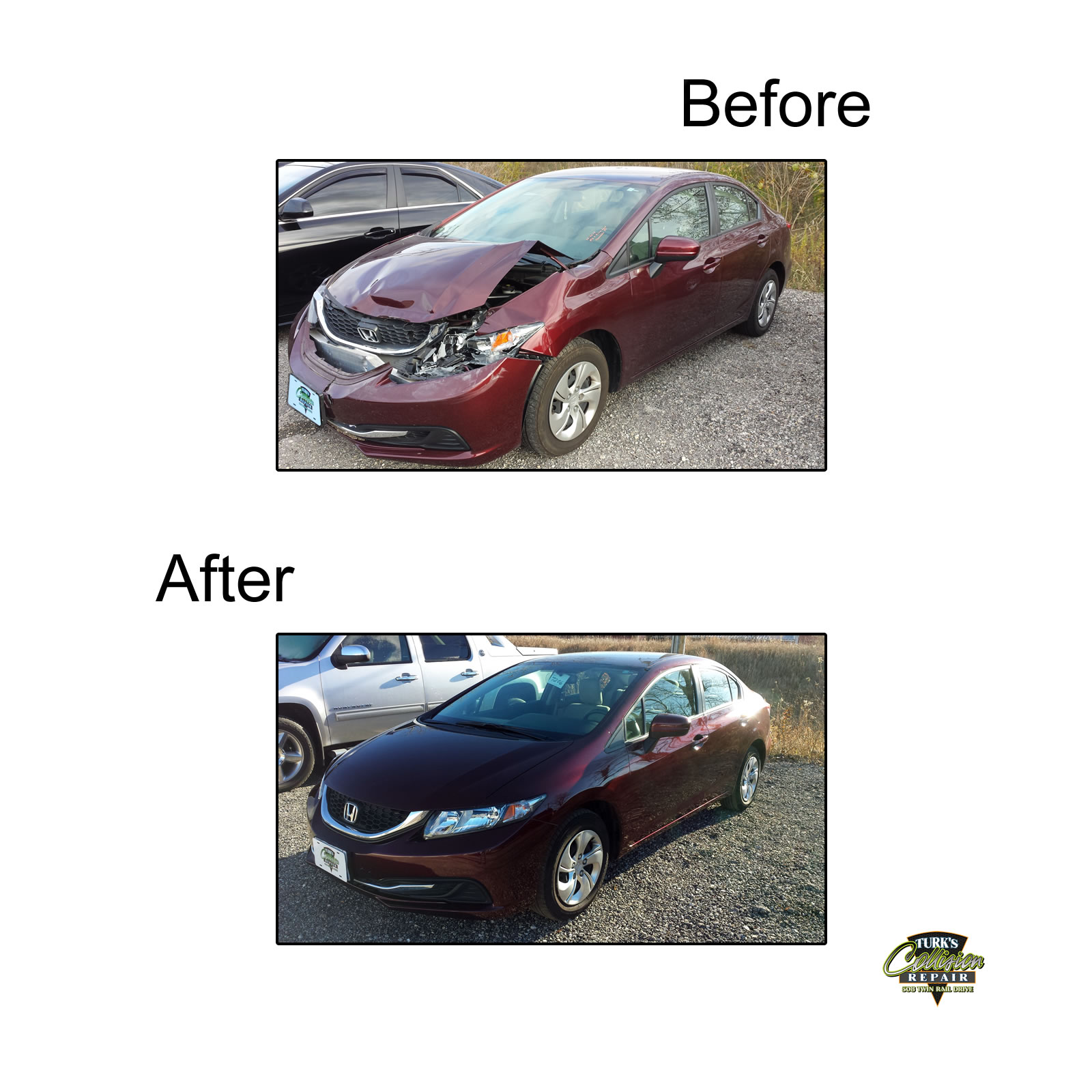 Honda Civic Auto Body Repair