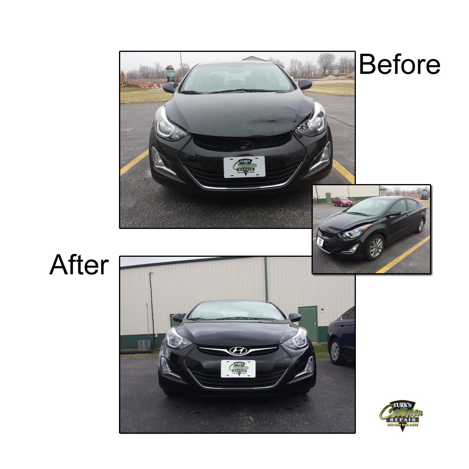 Hyundai Collision Repair