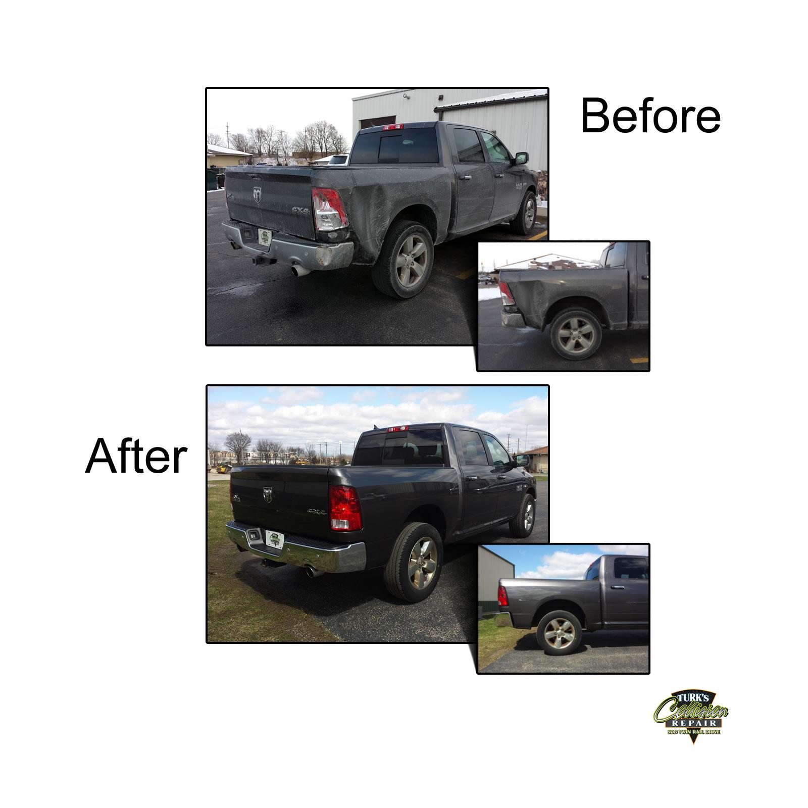 Dodge Ram Collision Repair