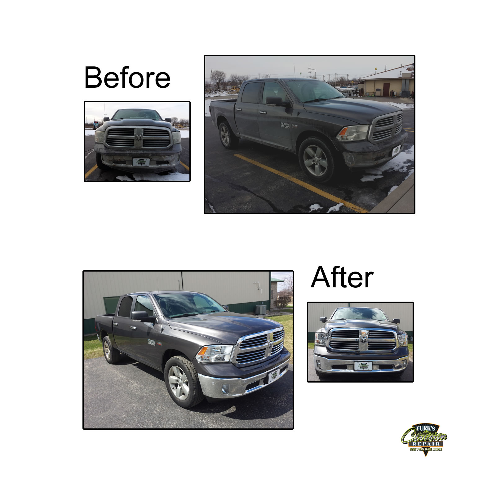 Dodge Ram Collision Repair Minooka IL