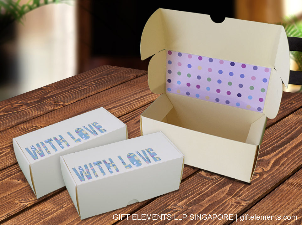 With Love scanncut self-assembly gift box