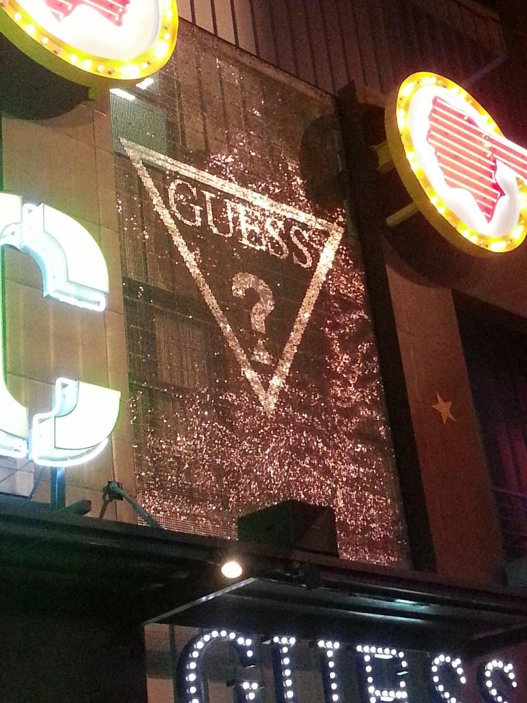 Guess Universal Citywalk LA Mosaic SolaRay sign (5).jpg
