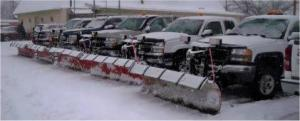 Snow Plowing Service Areas