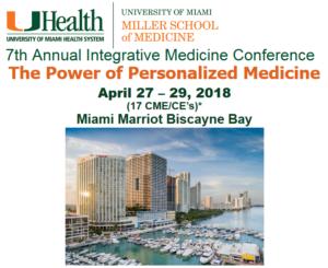 7th Annual Integrative Medicine Conference:パーソナライズド・メディスンの力