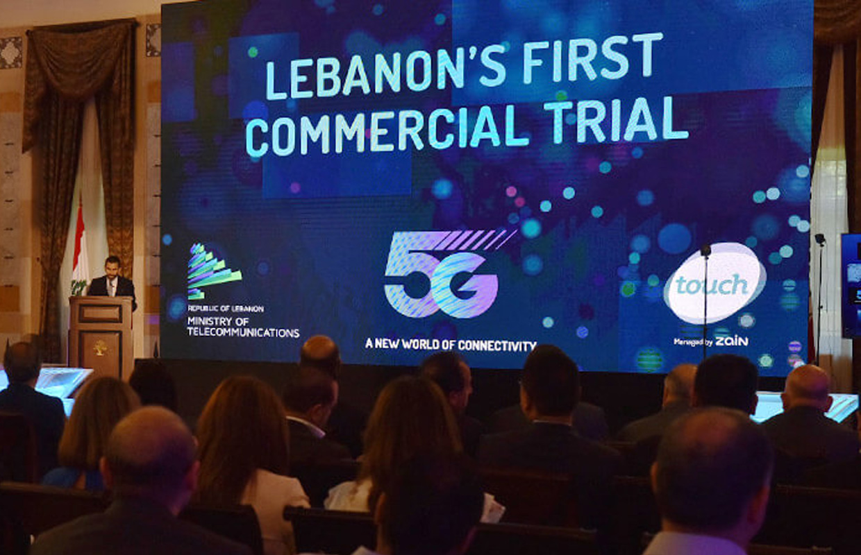 5g commercial trial touch lebanon